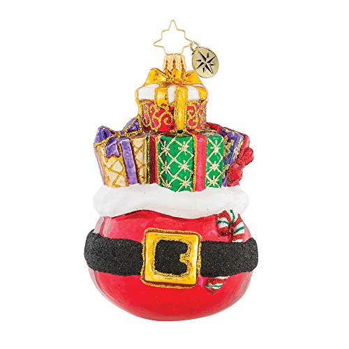 Christopher Radko Buckle Up For The Holidays Glass Ornament by Christopher Radko