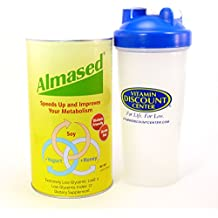 Bundle: 2 Items - 1 Tub of Almased Multi Protein 17 Ounces and 1 VDC Shaker Cup