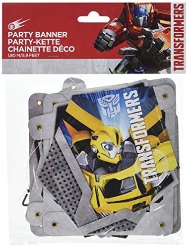 Amscan Transformers Letter Banner
