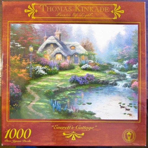 Thomas Kincade Painter of Light; Everetts Cottage 1000pc Puzzle -