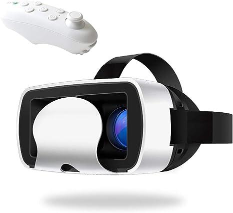 TRQJY 3D Casco De Realidad Virtual, VR Casco De Realidad Virtual ...