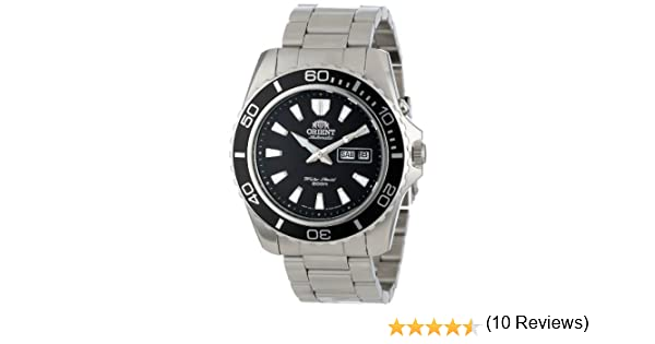 Orient Reloj Analogico para Hombre de Automático con Correa en Acero Inoxidable FEM75001BW: Amazon.es: Relojes
