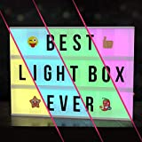 Cinema Light Box with Letters – New VOL