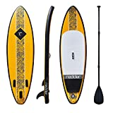 redder ROGUE Inflatable Stand-up Paddle Board for Surfing 9' with 3 Fins, Adjustable Paddle, Security leash, Pump and Backpack