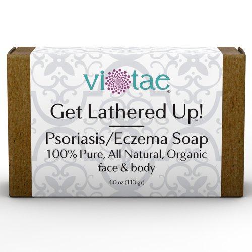 """PSORIASIS-ECZÉMA SOAP - 100% Pure, All Natural, Certified Organic aromathérapie Savon Herbal Pour mains et le corps - """"Get mousser."""" Vous allez adorer cette!"""