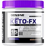 Cheap GenOne Nutrition- Oxy Lean Keto-FX- Ketosis, Ketones for Ketogenic Diet, Supports Energy Boosting, Endurance and Focus, Delicious Taste (15 Servings) (Fresh Berries)