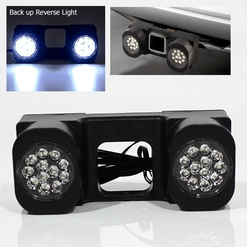 New Modifystreet LED Hitch Light for Truck trailer or SUV - 24 LEDs Backup Reverse Light