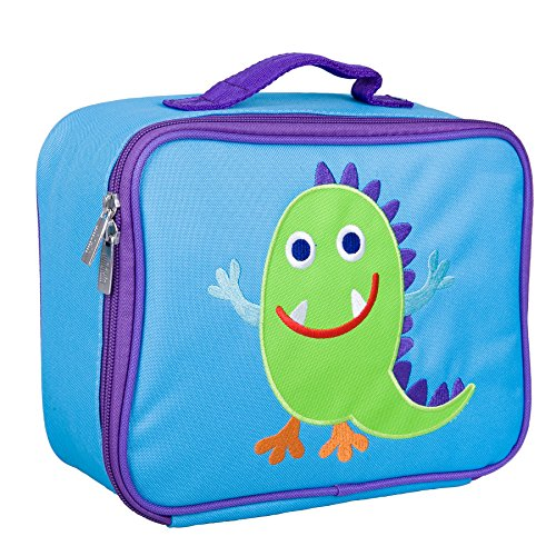 Monsters Lunch Box - Wildkin Olive Kids Monsters Embroidered Lunch Box