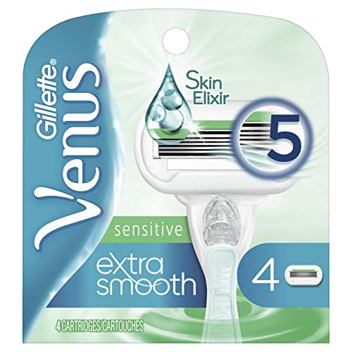 Gillette Venus Extra Smooth Sensitive Women's Blade - 4 Refills