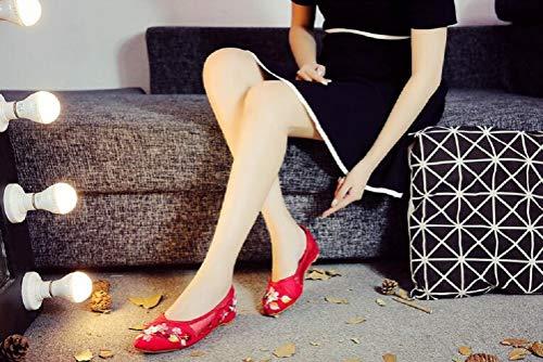 Malla Mujer Lazutom Mocasines De Para Red pqq64wU