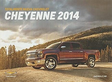 Amazon.com : 2014 CHEVROLET CHEYENNE PICKUP COLOR SALES BROCHURE ...
