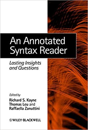 Amazon an annotated syntax reader lasting insights and an annotated syntax reader lasting insights and questions 1st edition fandeluxe Images