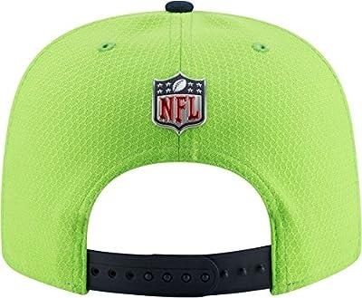 New Era Men's Seattle Seahawks Sideline 2017 On-Field 9Fifty Snapback Adjustable Hat (OSFM)