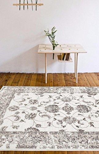 4535 Distressed Cream 710X106 Area Rug Carpet Large New