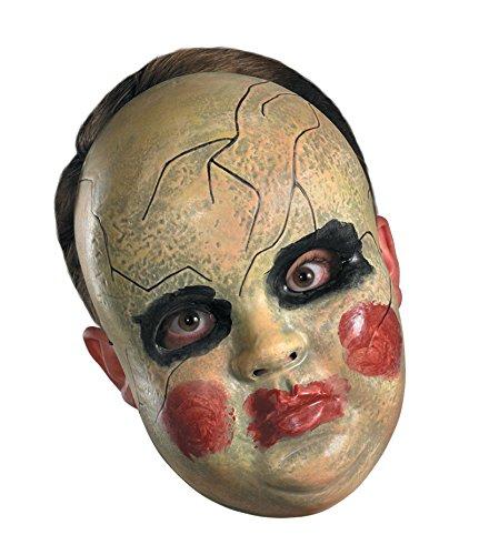 23930/32 Clown Doll mask ()