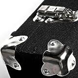 Diago Gigman PB02 - Heavy Duty Lightweight Guitar Effects Hard Case Pedal Board w/ Velcro