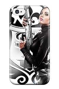 Florence D. Brown's Shop Case Cover, Fashionable Iphone 4/4s Case - Saints Row