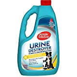 Simple Solution Pet Urine Destroyer | Enzymatic Cleaner with 2X Pro-Bacteria Cleaning Power Targets Urine Smells and Stains | 1 Gallon