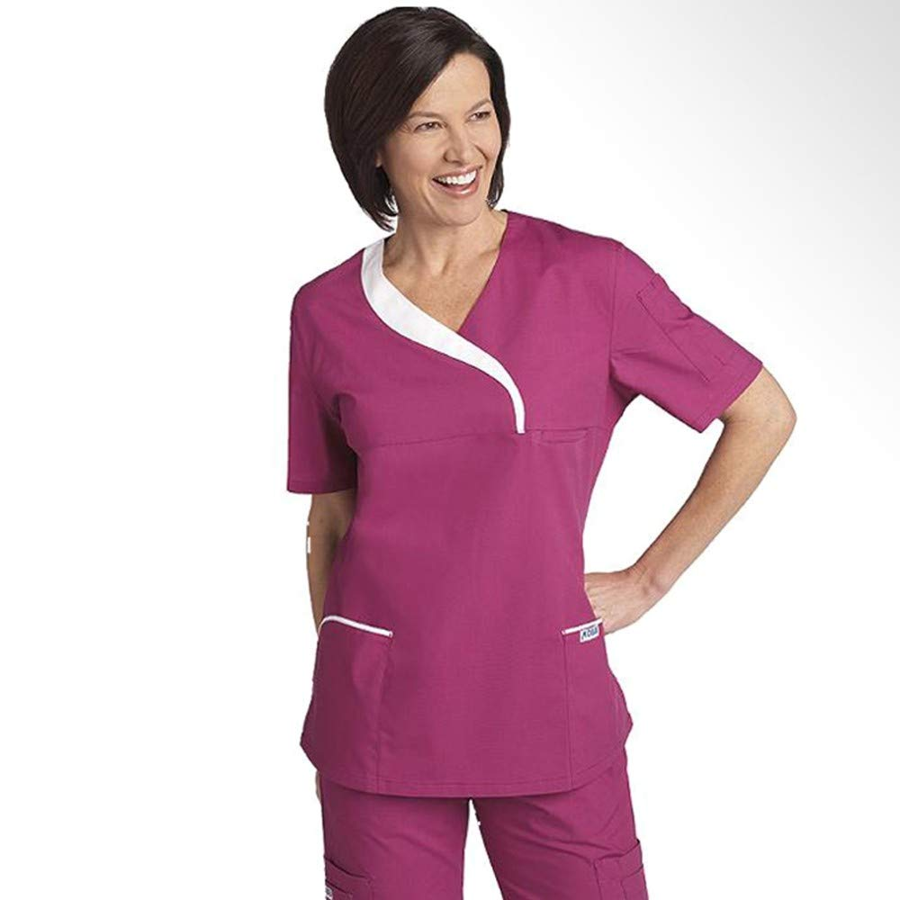 2018 Summer Women Hospital Medical Scrub Clothes Set Fashionable Design Slim Fit Dental Scrubs Beauty Salon Men Nurse Uniform Making Things Convenient For Customers Work Wear & Uniforms Medical