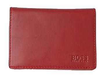 Hugo Boss - Cartera para Hombre Adulto Unisex Rojo Rojo: Amazon.es: Equipaje
