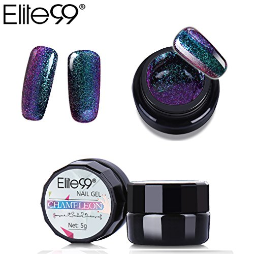 Elite99 Chameleon Color Changing Gel Polish Gorgeous Soak of
