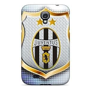 Bumper Hard Cell-phone Case For Samsung Galaxy S4 (vLi18943DcVv) Custom Trendy Juventus Pattern