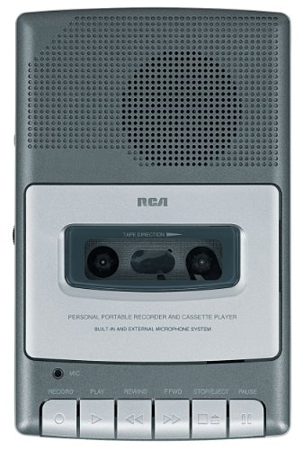 RCA RP3504 Cassette Shoebox Voice Recorder from RCA