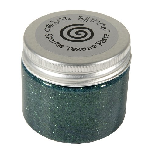 Cosmic Shimmer Sparkle Texture Paste, Holly Green Craftiarts CSPASTSPHOLLY