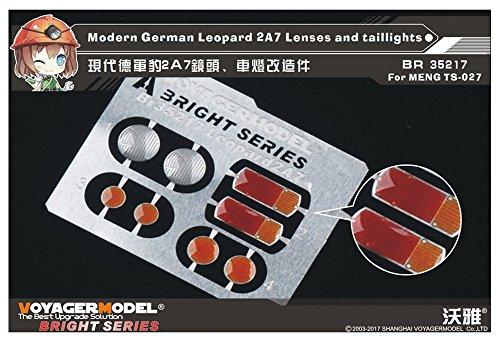 ボイジャーモデル 1/35 現用ドイツ軍 レオパルト2A7 レンズ・尾灯セット モンモデルTS-027用 プラモデル用パーツ BR35217の商品画像