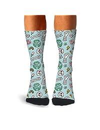 Men's Gay Romance Again Feminist Logo compression sweat-absorbent slipper socks cycling loafer calf socks