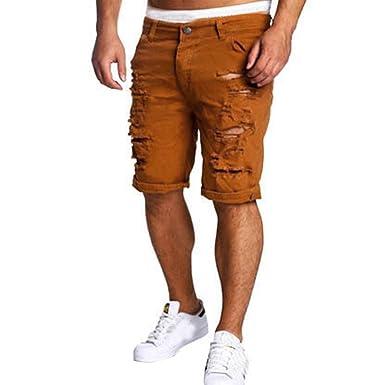 VENMO Pantalones Cortos para Hombre, Vaqueros Ocasionales de ...