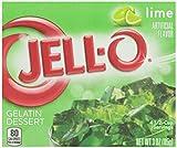 Jell-O Gelatin Dessert, Lime, 3 oz