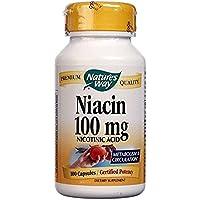Nature's Way Niacin, 100 Caps 100 mg [並行輸入品]