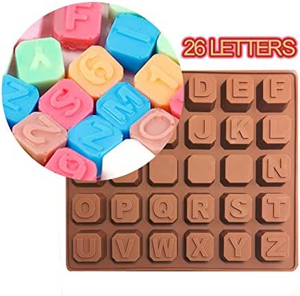 DIYhandmade chocolate soap ice lattice, Silicone Chocolate Candy Ice Soap Molds Moulds for Handmade DIY Products (black)