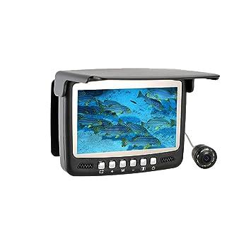 4c5c6adc4b Cámara de pesca, Buscador de peces bajo el agua con visión nocturna por  infrarrojos y luz ...