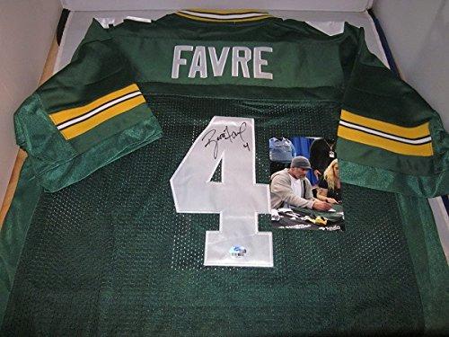 Brett Favre Signed Green Bay Packers Road Jersey, Fanatic Authentics