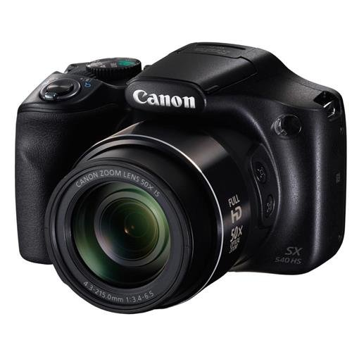Canon PowerShot SX540 Digital Camera (Black)