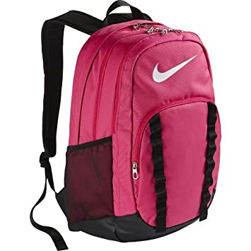 0bb12aa58d77 Nike Brasilia 7 XL Backpack - Pink  Amazon.co.uk  Sports   Outdoors