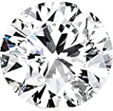 Certified Diamond (Round, Excellent cut, 6.08 carats, G color, VS2 clarity)