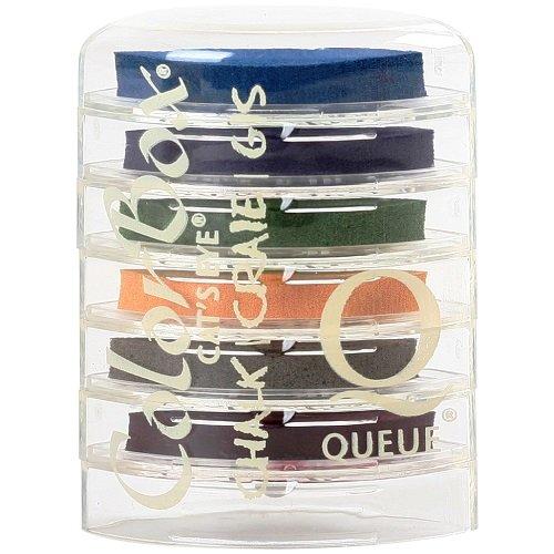 (ColorBox Fluid Chalk Cat's Eye Ink Pads Queue 6/pkg, Bouquet)