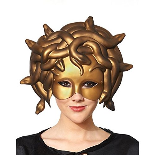 [Costume Beautiful Medusa Masquerade Mask] (Beautiful Witch Costumes)