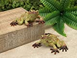 Cheap Mission Gallery Two 6.5″ Sweet Garden Patio Rainforest Style Frogs ~ Made of Resin