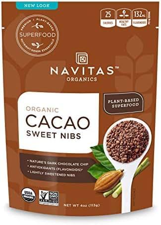 Nuts & Seeds: Navitas Organics Sweetened Cacao Nibs