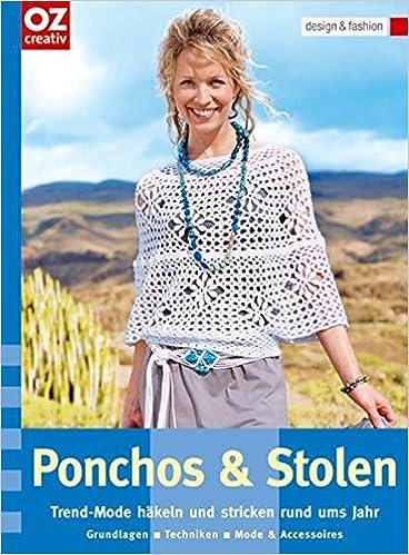 Ponchos Stolen Trend Mode Häkeln Und Stricken Rund Ums Jahr