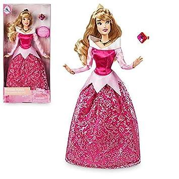Muñeca Oficial Aurora Disney de la Bella Durmiente con Anillo a Juego de tamaño Natural