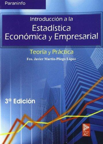 Introducción a la estadística económica empresarial Tapa blanda – 1 jun 2004 ALFA CENTAURO 8497323165 ECONOMÍA EMPRESA Y GESTIÓN