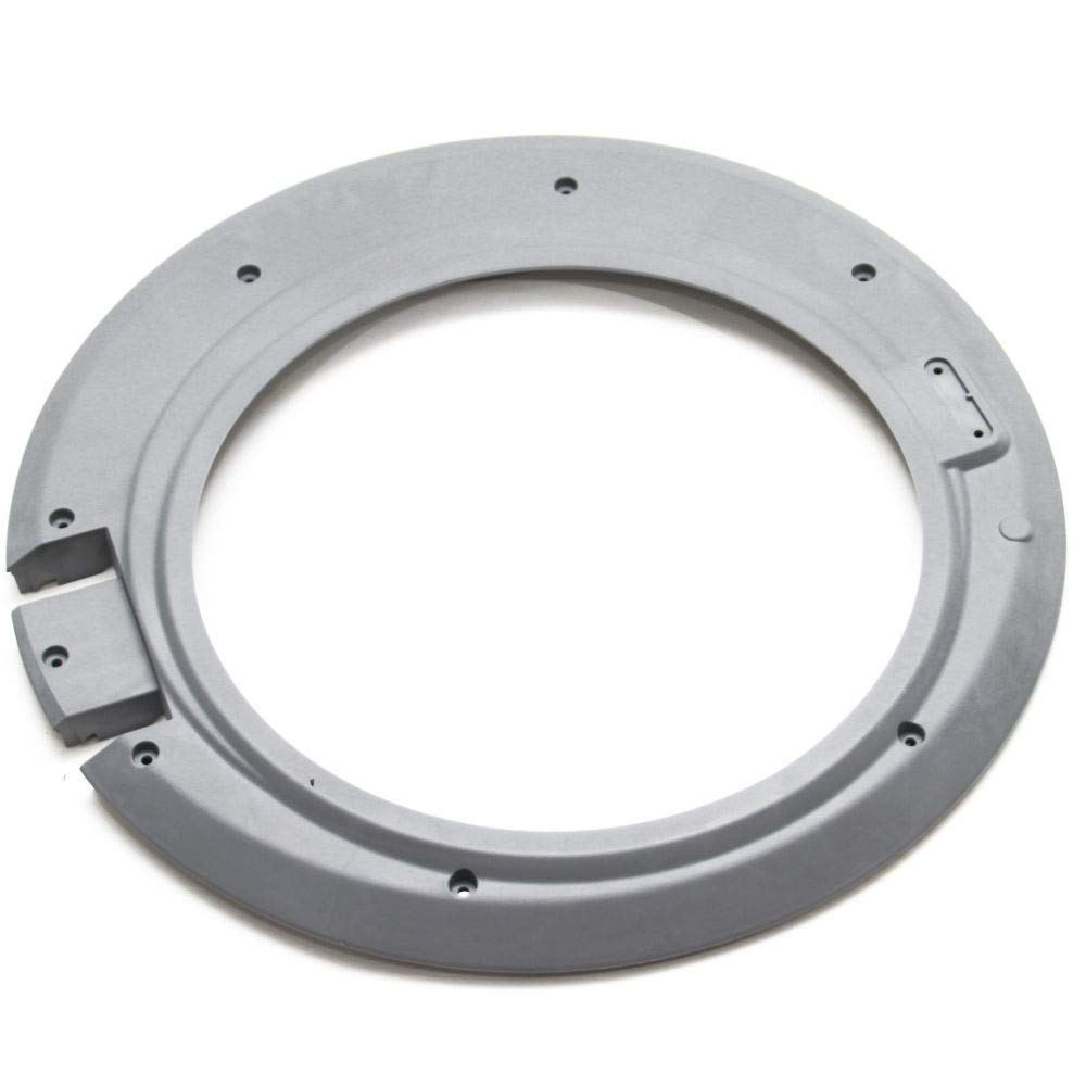 137280302 Washer Door Outer Frame Genuine Original Equipment Manufacturer (OEM) Part Gray by FRIGIDAIRE