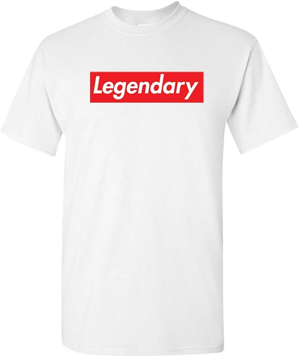 3X, Black Legendary Box T Shirt Supreme Legendary t Shirt
