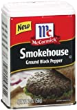 McCormick Smokehouse Ground Black Pepper, 2 oz (Pack of 2)