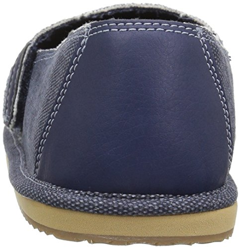 The Children's Place Boys' BB Slipon Deck Slipper, Navy, Youth 5 Medium US Infant - Image 2